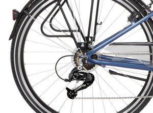 "Rower Kross Trans 2.0 SR M 28"" damski niebieski biały"