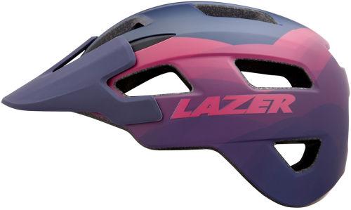 Kask rowerowy Lazer Chiru rozmiar M (55-59cm) niebiesko-różowy