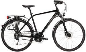 "Rower Kross Trans 5.0 L 28"" męski czarny szary"