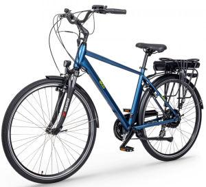 """Rower elektryczny EcoBike Trafik Man 28"""", bateria 10.4 Ah"""
