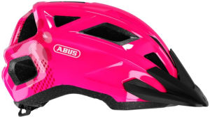 Kask rowerowy dziecięcy Abus Mountz rozmiar S (48-54cm) różowy