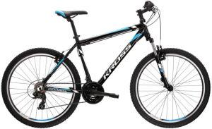 """Rower Kross Hexagon 1.0 S 26"""" czarny biały niebieski"""
