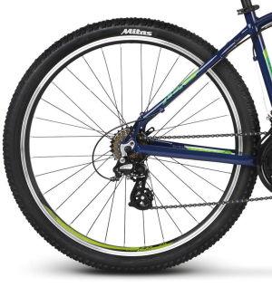 Rower Kross Lea 2.0 27,5 XS granatowo-zielony