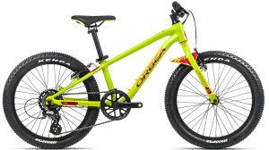 """Rower Orbea MX 20 Dirt 20"""" limonkowo-czerwony"""