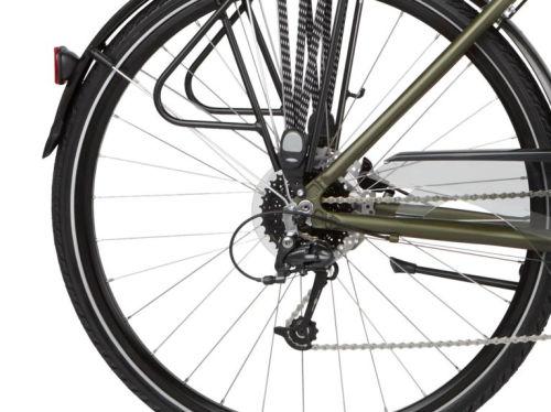 """Rower Kross Trans 5.0 M 28"""" męski khaki czarny"""