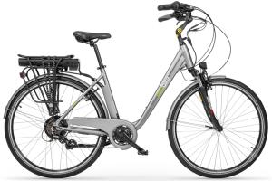 """Rower elektryczny EcoBike Trafik Grey 28"""", bateria 13 Ah"""