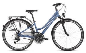 """Rower Kross Trans 2.0 SR L 28"""" damski niebieski biały"""