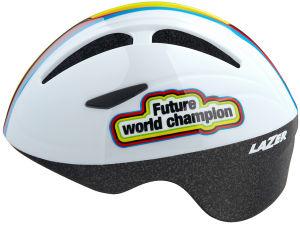 Kask rowerowy dziecięcy Lazer Bob+ (46-52cm) Future World Champion