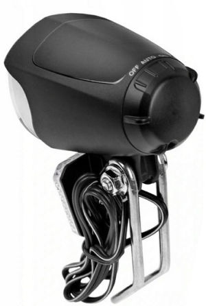 Lampa rowerowa 2K JY-7070 na prądnicę przód