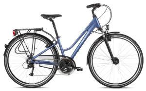 """Rower Kross Trans 4.0 M 28"""" damski niebieski biały"""