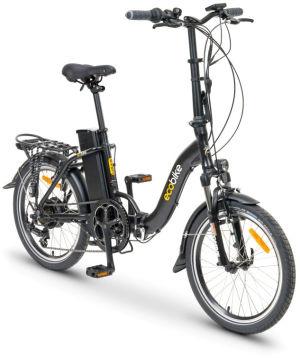 """Rower elektryczny EcoBike Even Black 15,5"""", bateria 13 Ah"""