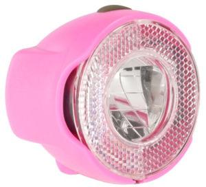 Lampa rowerowa przednia Le Grand Sunlight Super różowa