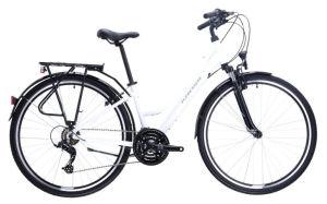 "Rower Kross Trans 1.0 SR M 28"" damski biały szary"
