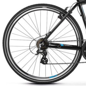 """Rower Kross Evado 2.0 XL 28"""" męski czarno-niebieski"""
