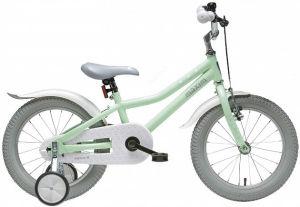 """Rower dziecięcy Maxim Sheep Girl 16"""" zielony biały"""