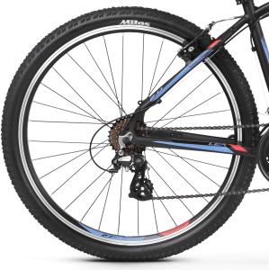 """Rower Kross Lea 2.0 XXS 26"""" czarno-malinowo-fioletowy"""