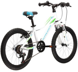 """Rower Kross Lea Mini 2.0 SR 20"""" biały niebieski zielony"""