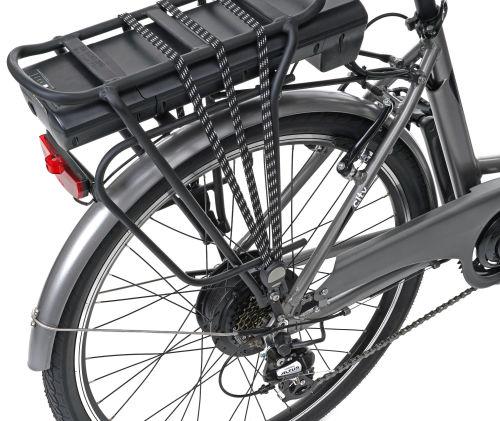 Rower elektryczny EcoBike City L Grey 26, bateria 13 Ah