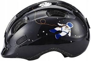 Kask rowerowy dziecięcy Abus Smiley 2.0 rozmiar S (45-50cm) Space czarny