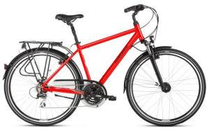 """Rower Kross Trans 3.0 L 28"""" męski czerwony czarny"""