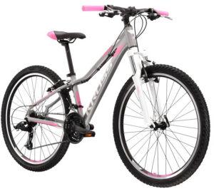 """Rower Kross Lea 2.0 SR XS 27,5"""" srebrny biały różowy"""