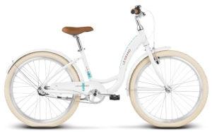 """Rower młodzieżowy Le Grand Lille JR 24"""" biały"""