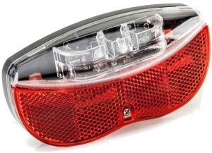 Lampa rowerowa tylna 2K 160269 R/Bag 80mm