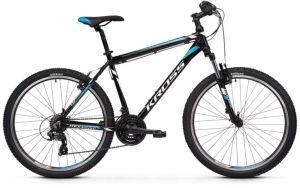 """Rower Kross Hexagon 1.0 L 26"""" czarny biały niebieski"""
